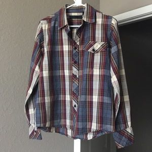 Lost Enterprises plaid shirt